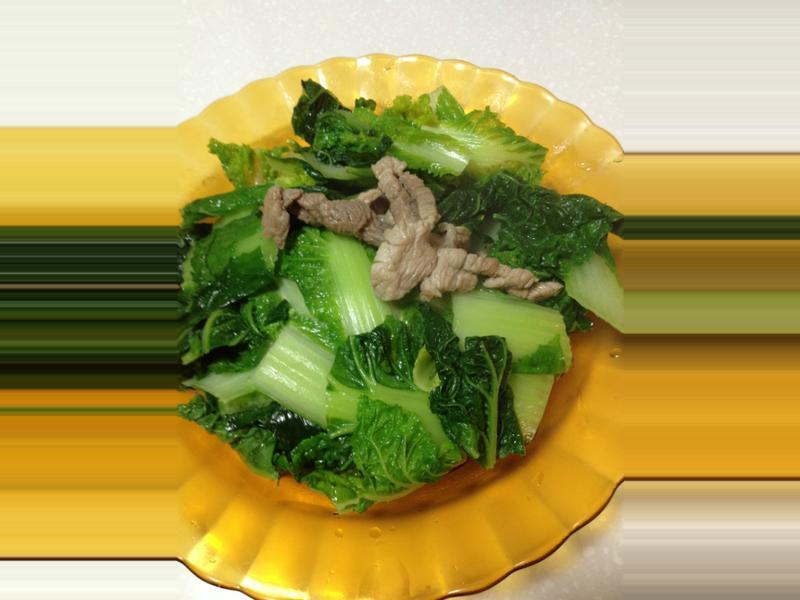 [快速料理]肉絲炒時蔬