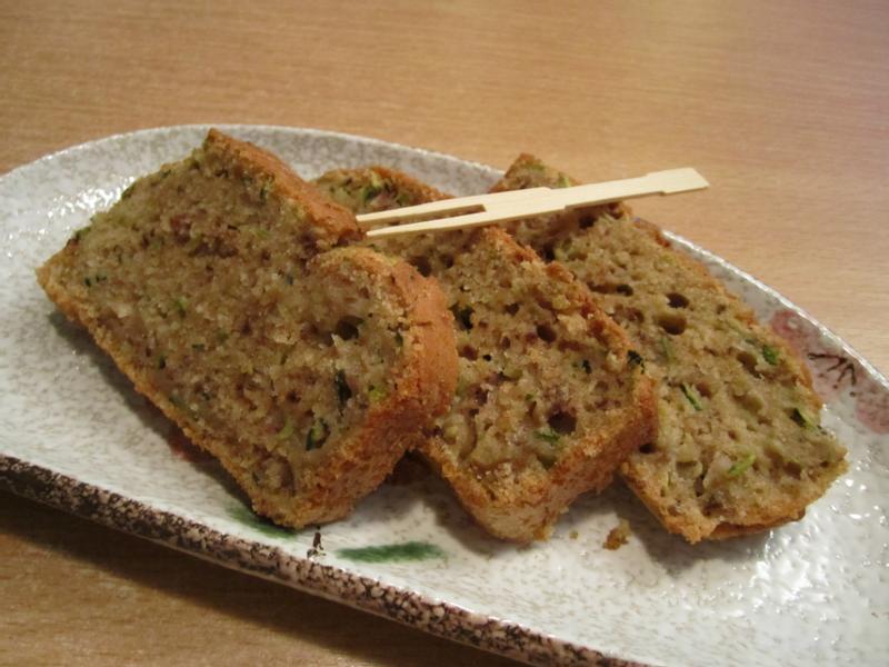 綠櫛瓜高纖蛋糕 Zucchini Bread
