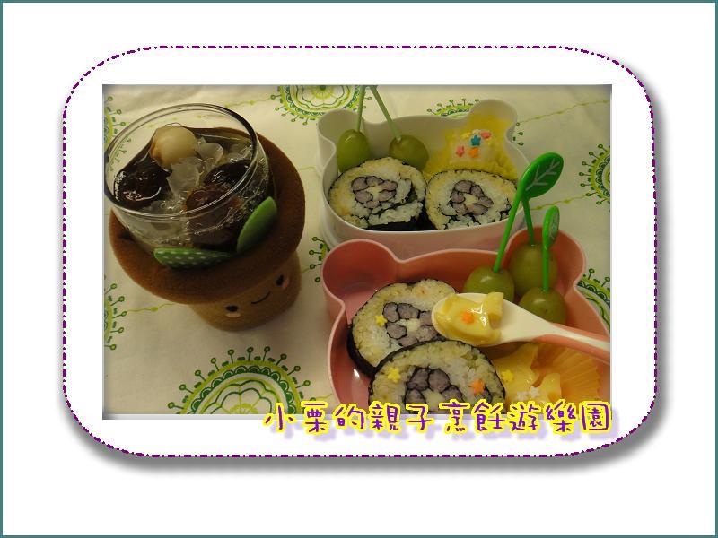 """野餐來吃""""花""""壽司"""