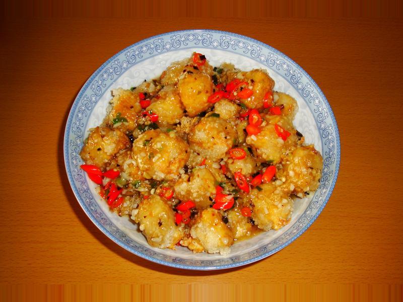 <川菜>魚香豆腐