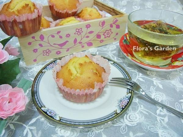 (簡單‧無泡打粉)蜂蜜杯子蛋糕