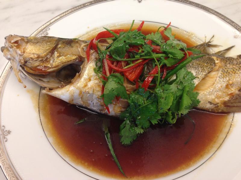 港式清蒸魚