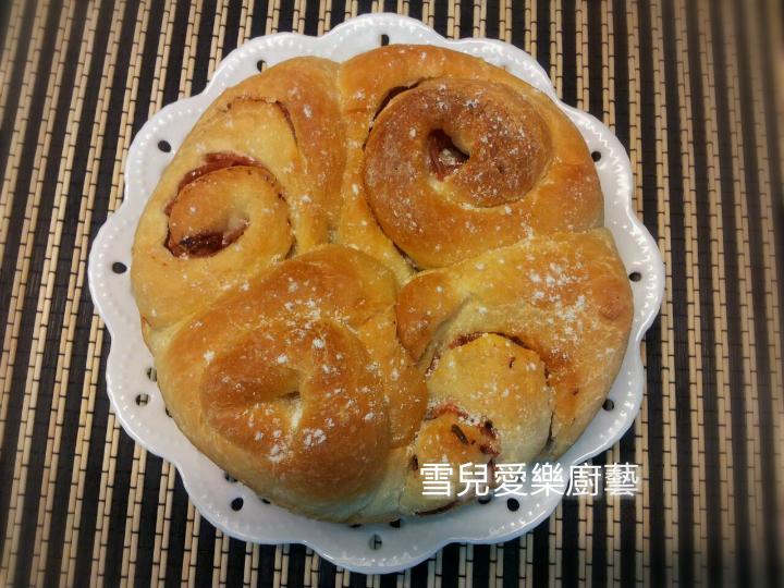 藏著驚喜的生日火腿麵包【烘焙展食譜募集】