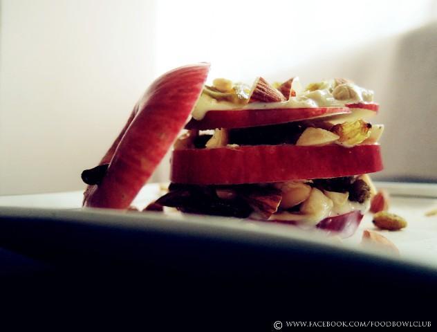 坚果苹果片