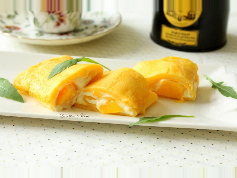 芒果乳酪燒