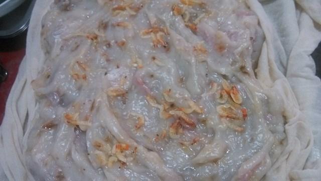 古早味櫻花蝦芋頭糕