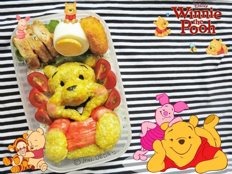 ♥上田太太愛睏哈欠便當♥(小熊維尼Winnie the pooh篇)
