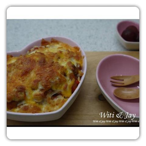 [Witi✿Kitchen]LC番茄鮮蔬焗飯
