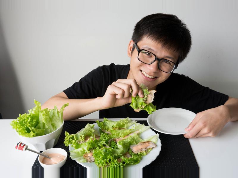 生菜松阪豬