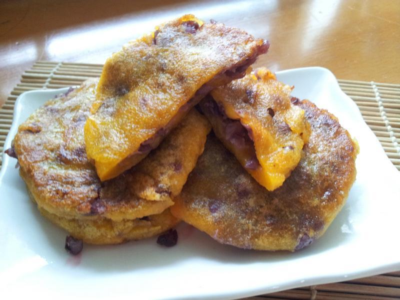 〖甜點〗南瓜紅豆軟餅