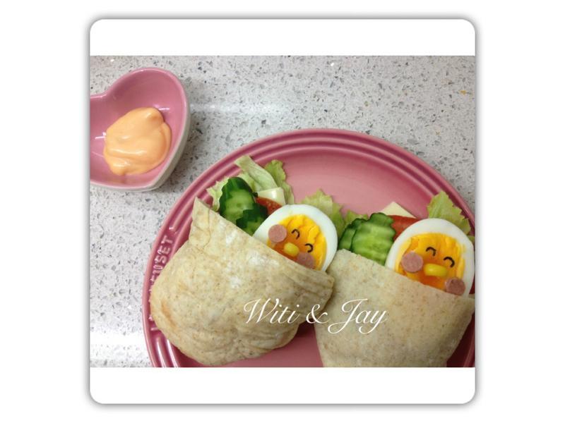 [Witi✿Kitchen]鮮蔬全麥Pita堡