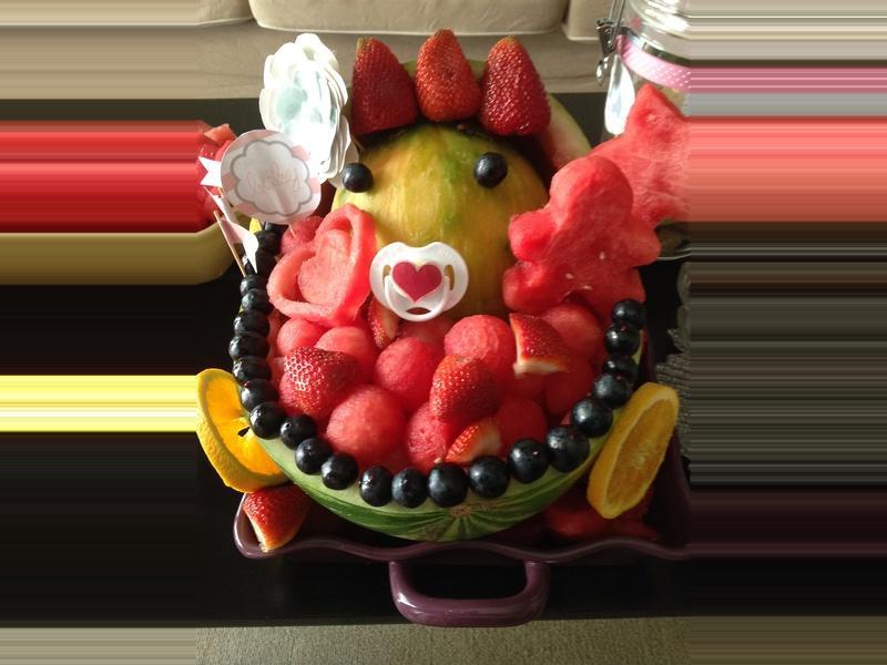 嬰孩水果西瓜推車 ❤!!!