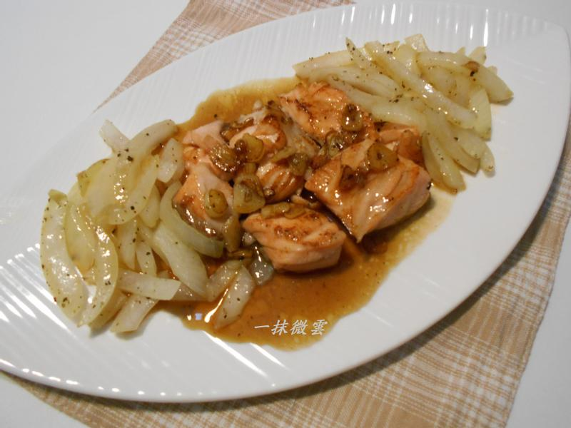 檸檬鮭魚『家樂福廚神大賽』