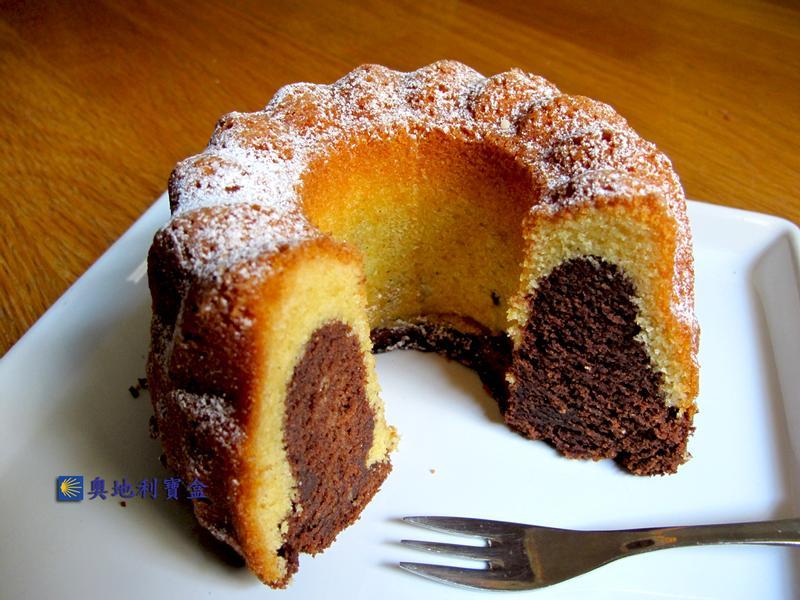 巧克力雙色咕咕霍夫-奧地利傳統美食