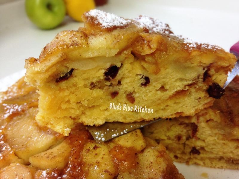 焦糖蘋果果乾鬆糕-鬆餅粉的輕鬆配方