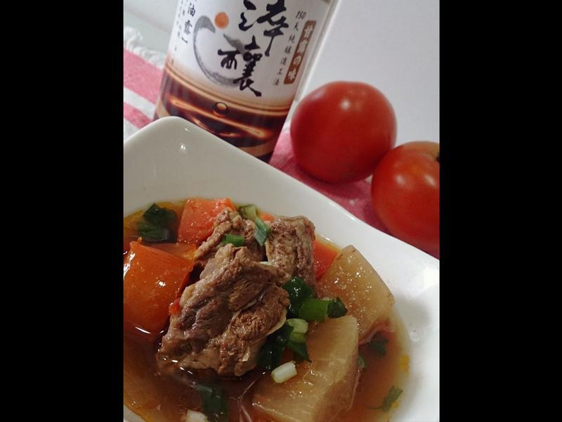 番茄牛肉湯~淬釀中式下午茶點
