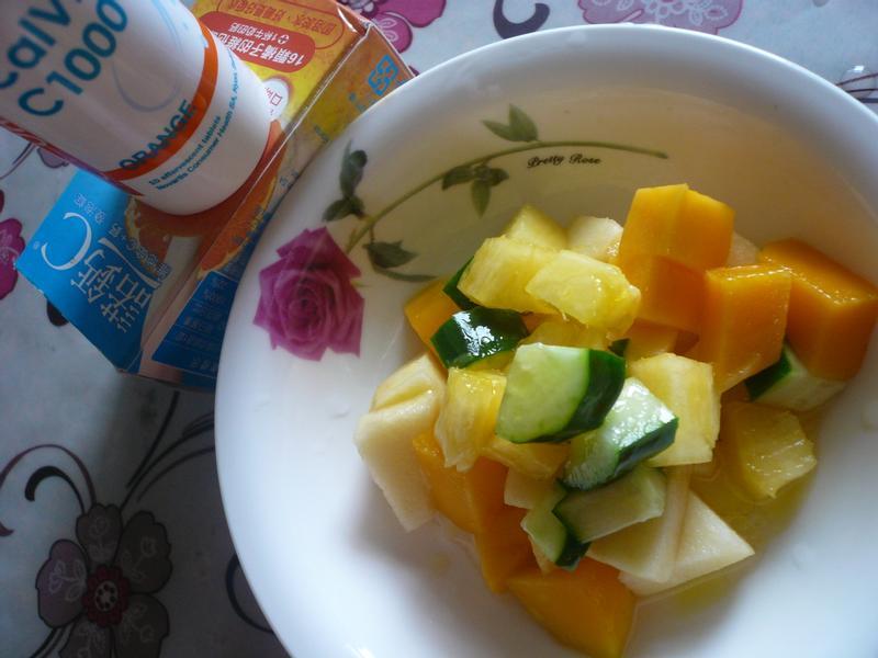 高C水果沙拉─『諾鈣C發泡錠』