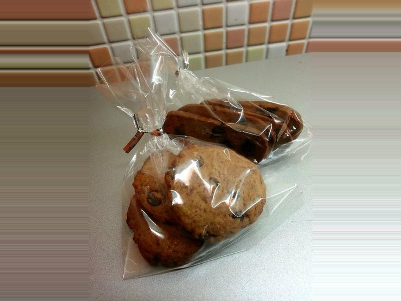 可可巧克力豆餅乾 (小烤箱版)