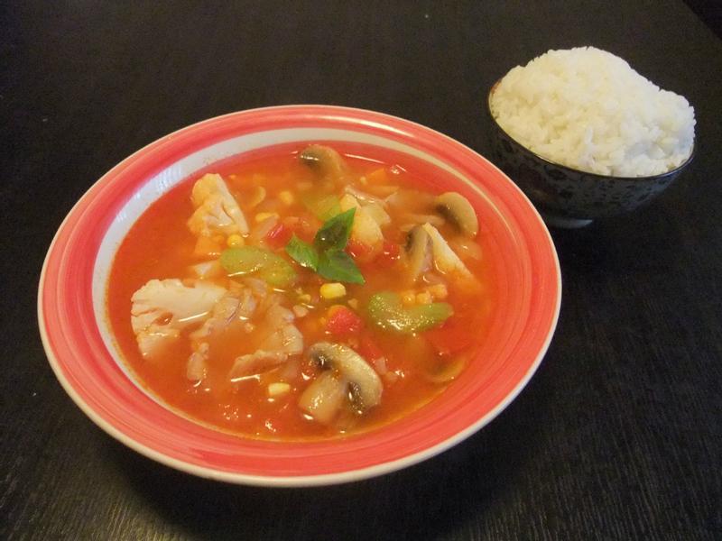 <快速料理-蕃茄蔬菜湯>