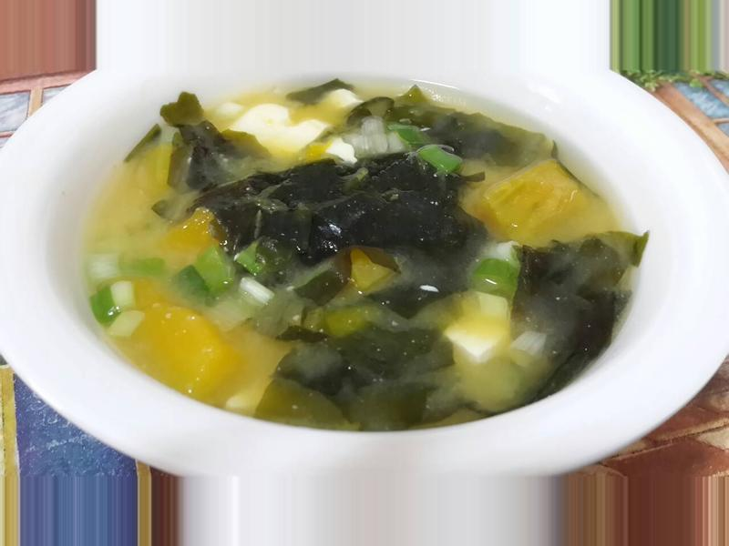 南瓜海帶味噌湯