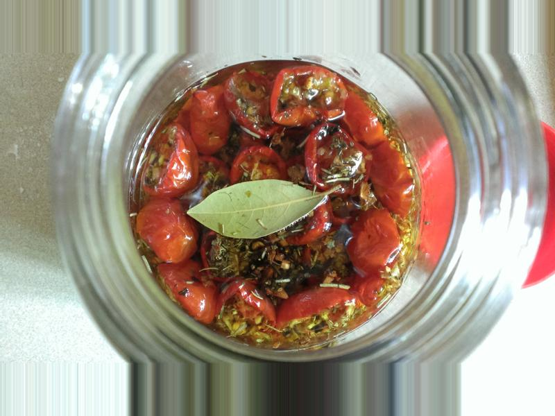 油漬香料蕃茄