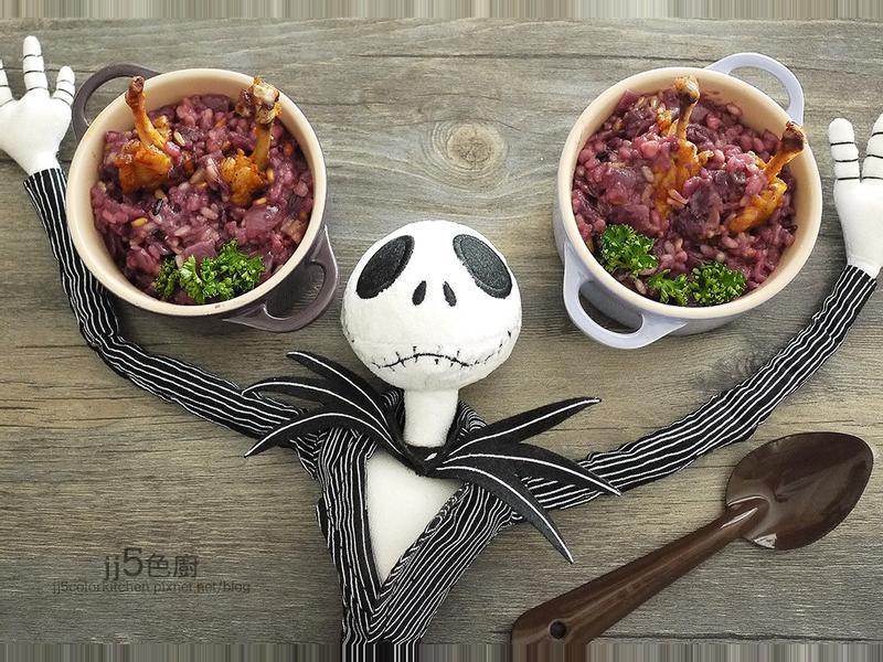 紫薯傑克墓園燉飯 【萬聖節】