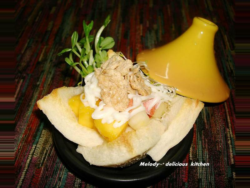 『Special K豪華主餐窈窕輕食 』果蔬沙拉土司盎