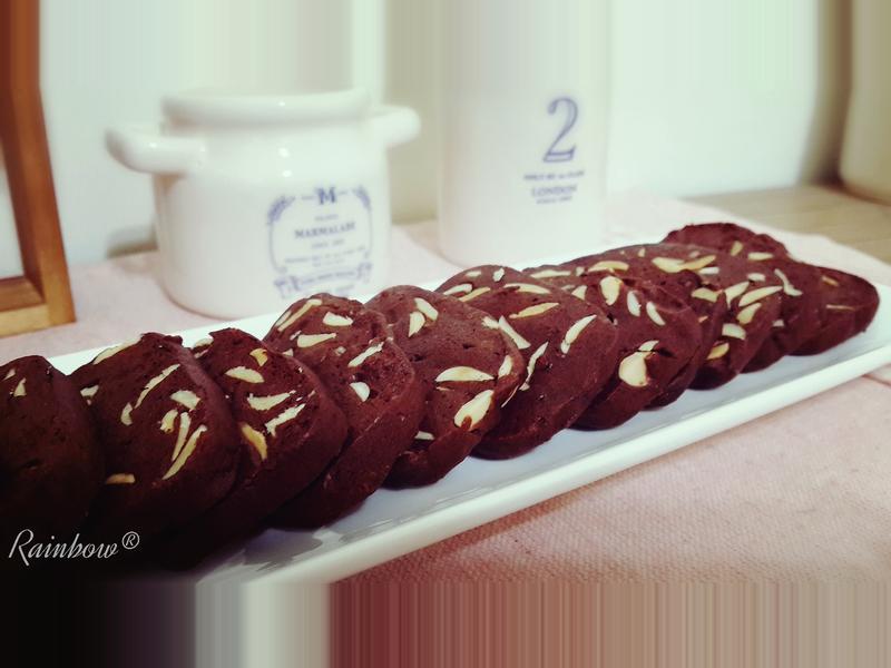 杏仁巧克力香酥餅乾