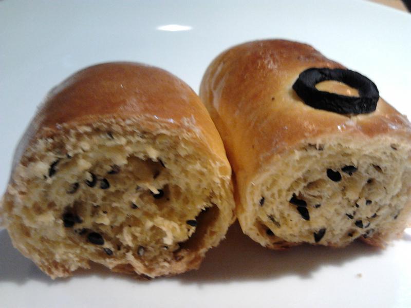 卡哇伊~芝麻南瓜麵包