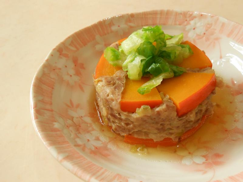 瓜瓜(南瓜、苦瓜)蒸肉