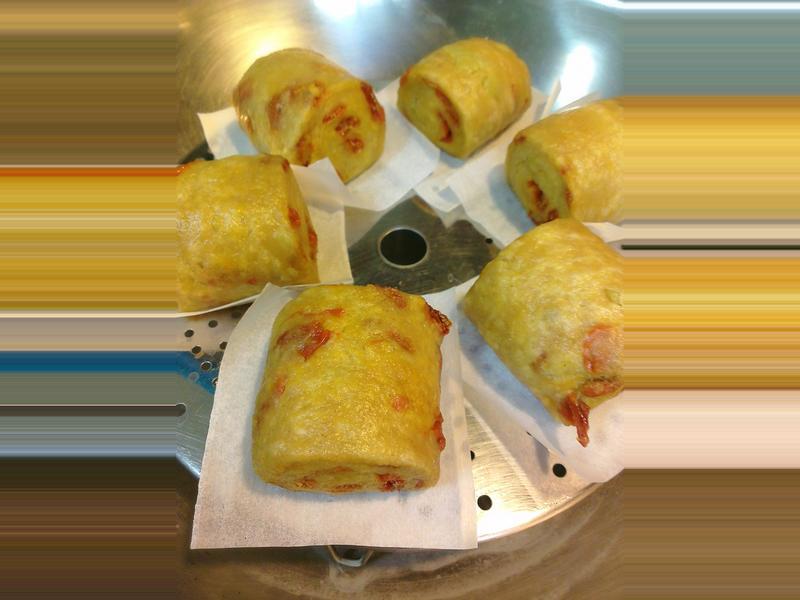 (無糖)地瓜枸杞小饅頭