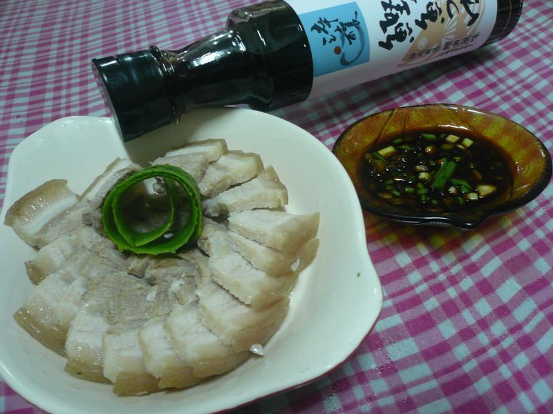 五味蒜泥白肉─淬釀決勝料理