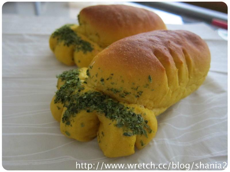 營養可愛的紅蘿蔔麵包