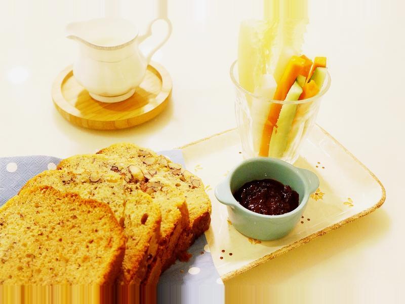 堅果香蕉蛋糕