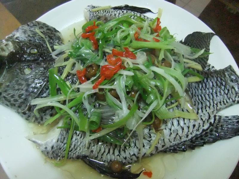 ღ小吟愛做菜ღ 清蒸樹子石斑魚