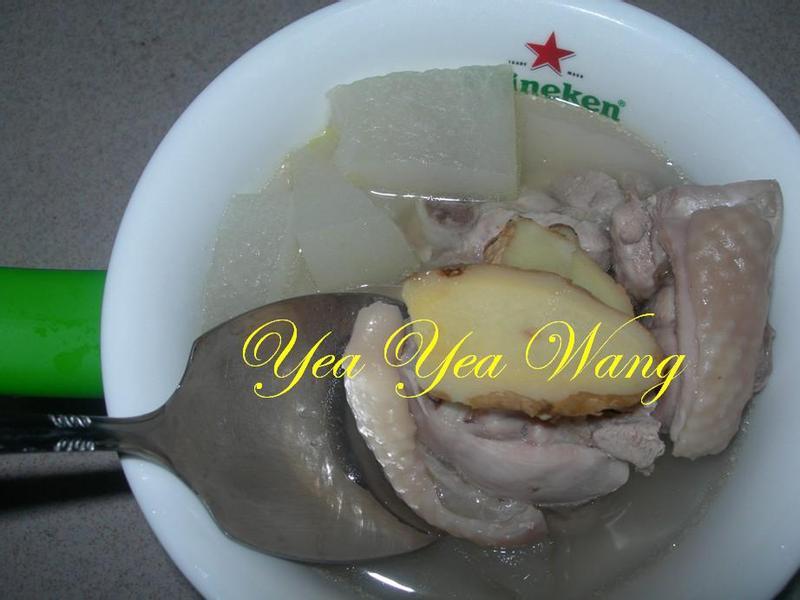 冬瓜雞腿湯