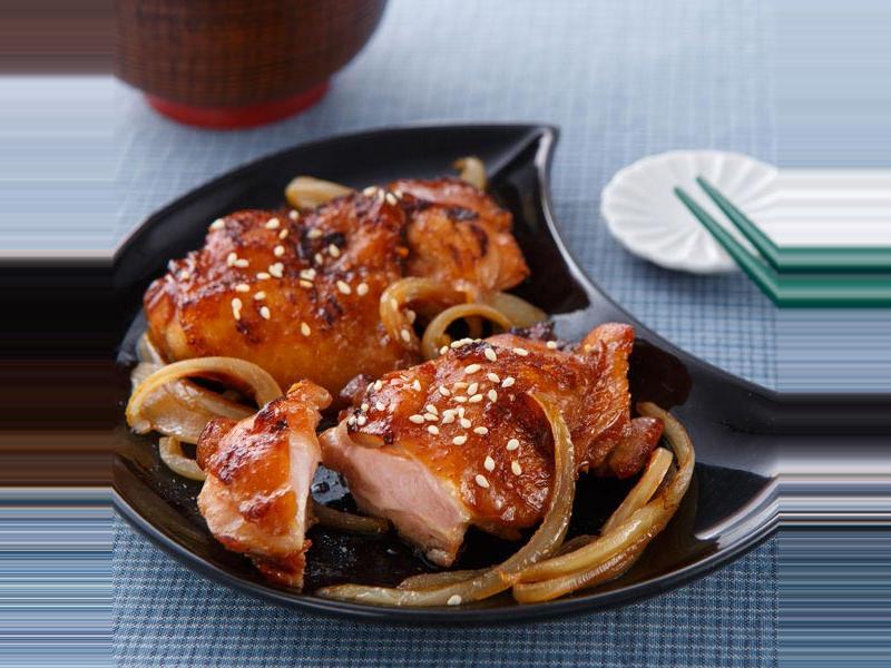 日式照燒雞腿排(免用油法)