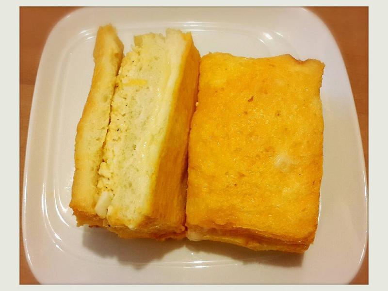 烤起士蛋沙拉土司