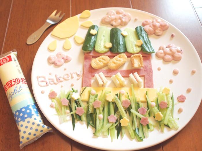 【桂冠沙拉就醬調】晨光麵包屋