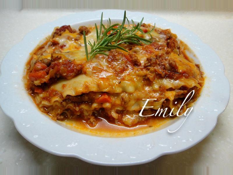 番茄肉醬千層麵