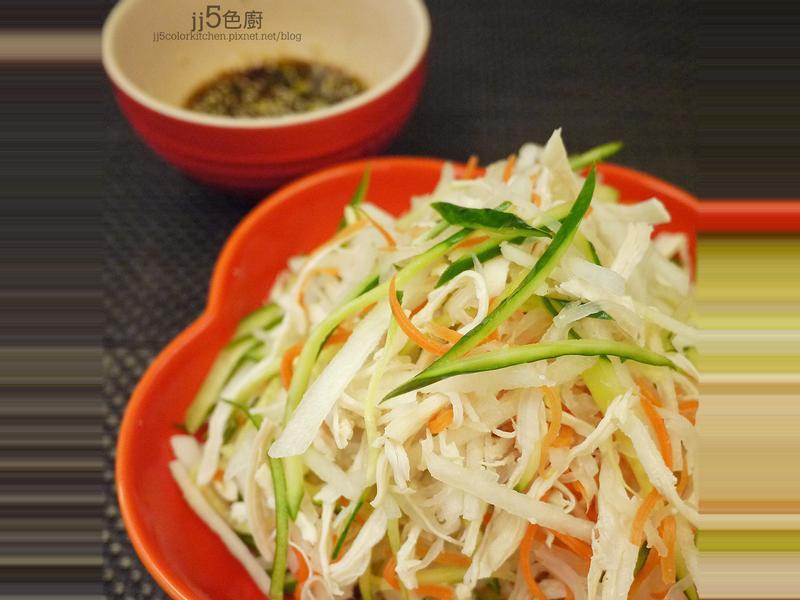 韓式涼拌水梨手撕雞