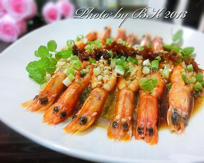 【李錦記舊庄特級蠔油125週年】蠔油蒜泥蝦