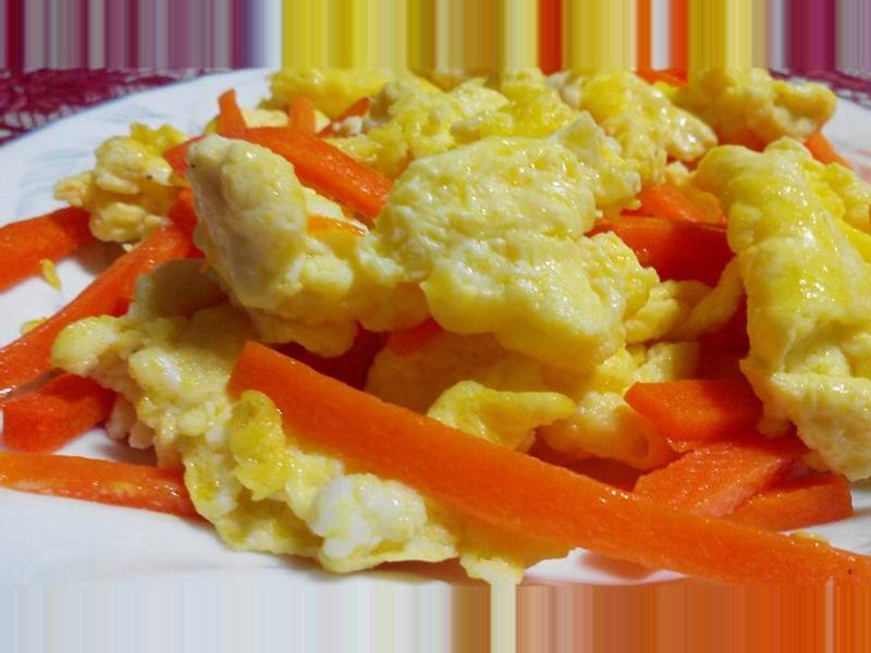 胡蘿蔔炒蛋【食在養生】