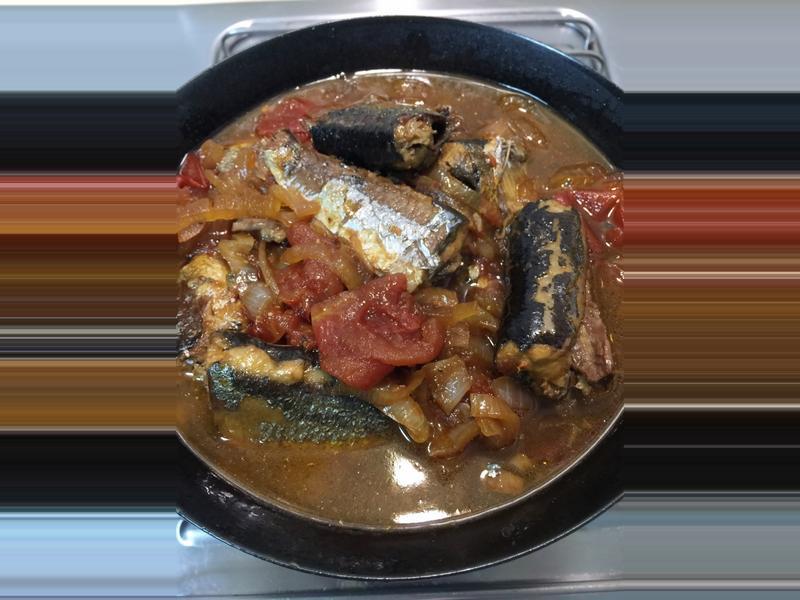 茄汁秋刀魚