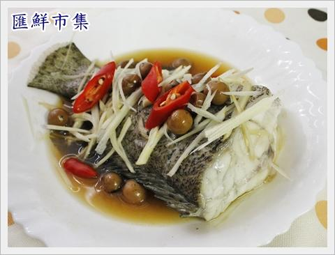 清蒸澎湖野生石斑魚