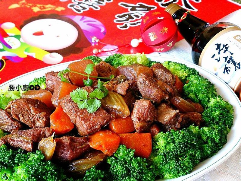 富貴吉祥紅燜肉【淬釀年菜料理】
