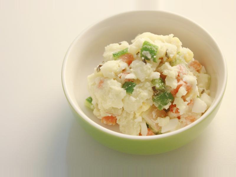 馬鈴薯蛋水果沙拉