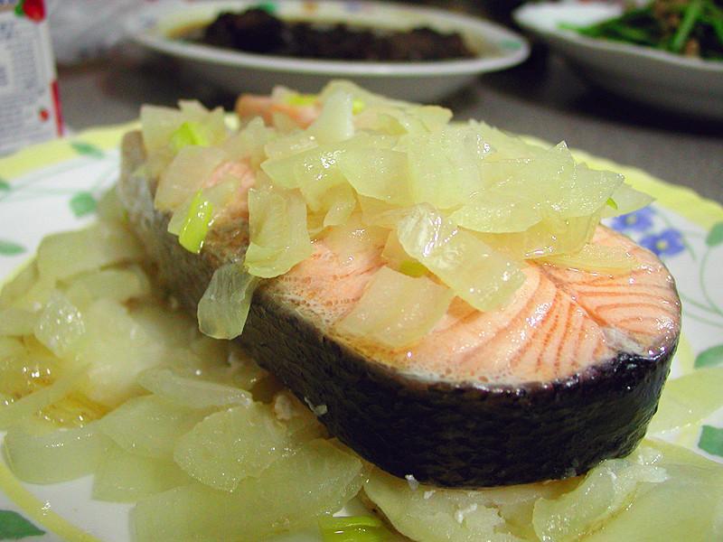 蒸烤盒~鮭魚篇