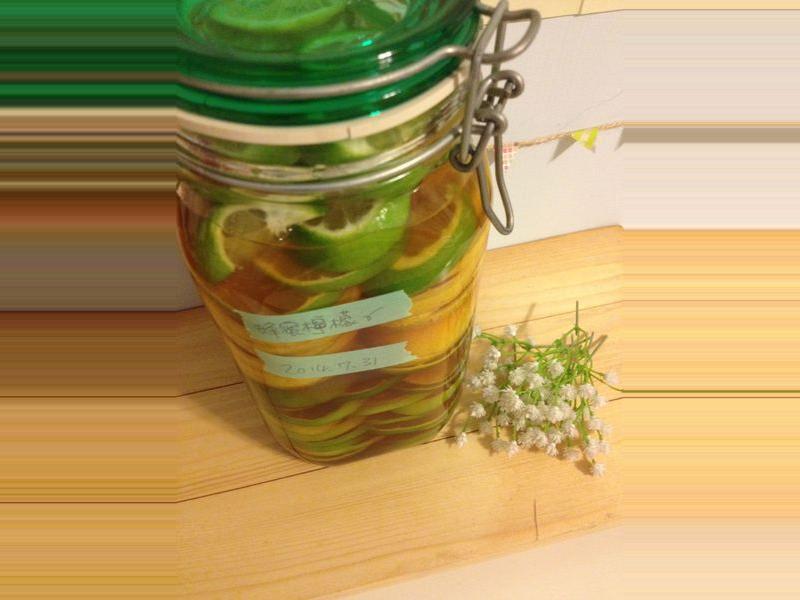 [莫莫廚房]醃漬蜂蜜檸檬