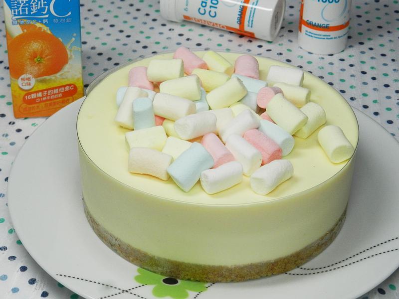 免烤乳酪蛋糕~[諾鈣C發泡錠]